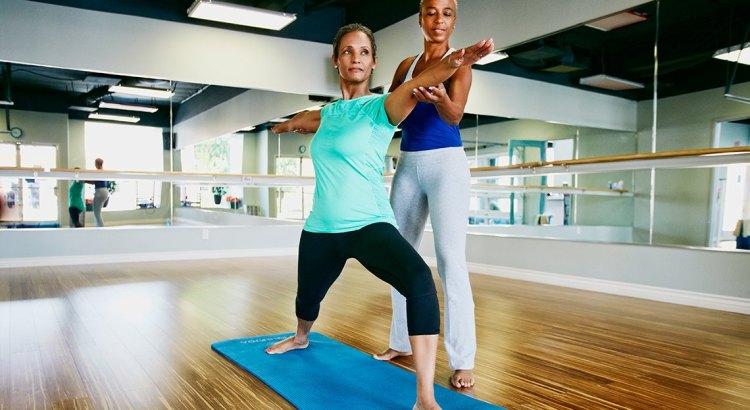 Therapeutic yoga at Danforth East Wellness