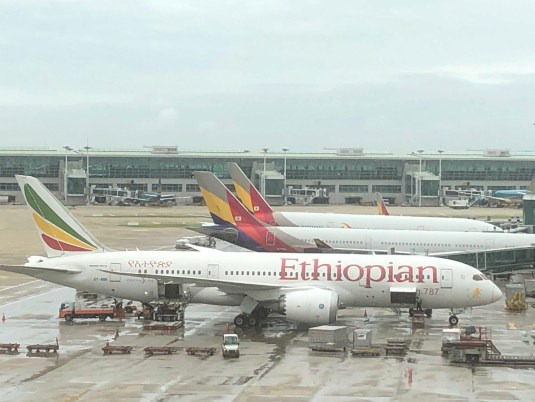 エチオピア航空ボーイング787