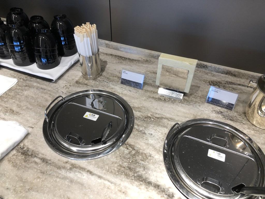 伊丹空港 ANA SUITE LOUNGEのスープ類