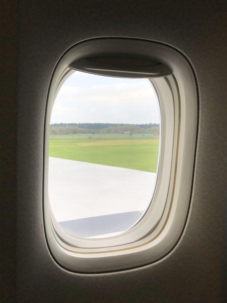 NH174便いよいよヒューストンへ向けて離陸です。