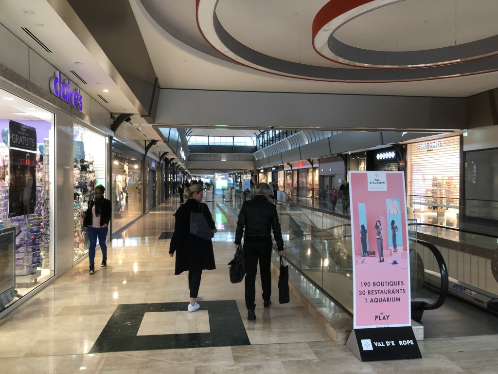 Val d'Europe Shopping Center内部の様子(1)