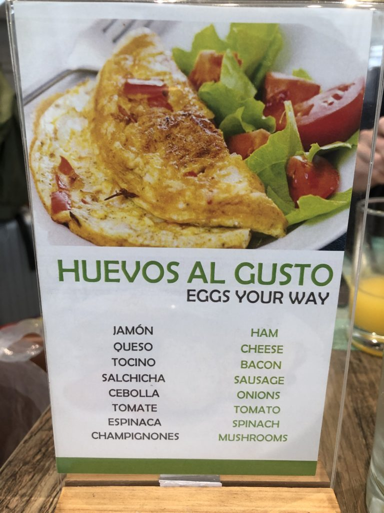 Holiday in Lima AirportのEgg Your Way