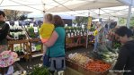 Abby and Mommy at the Market