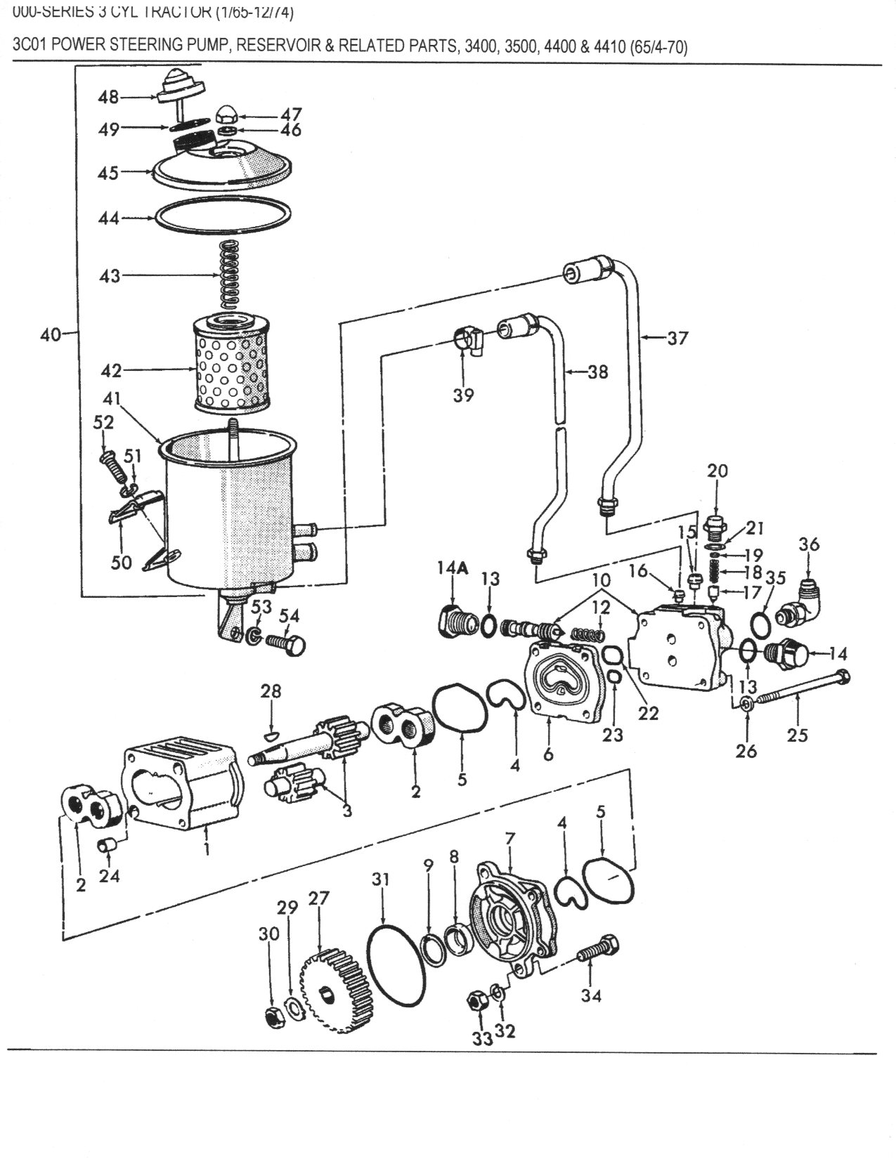 Ford 8n Hydraulic Diagram