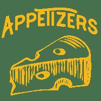 Appetizer menu at D'Angelos Pizza