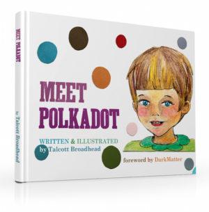 Meet Polkadot  --Domestic U.S Shipping included--