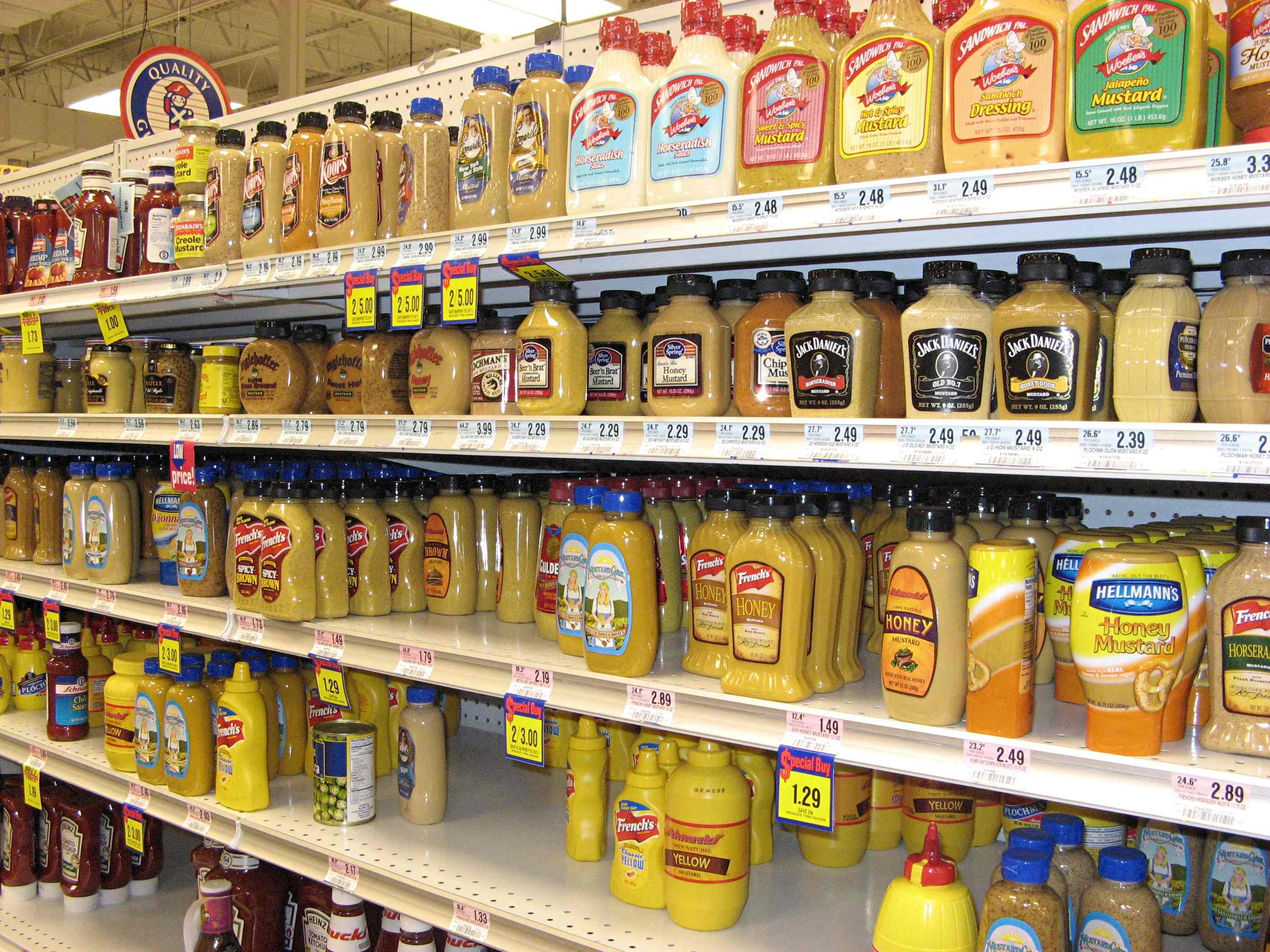 Mustard Aisle Lo Res  Grocery Words