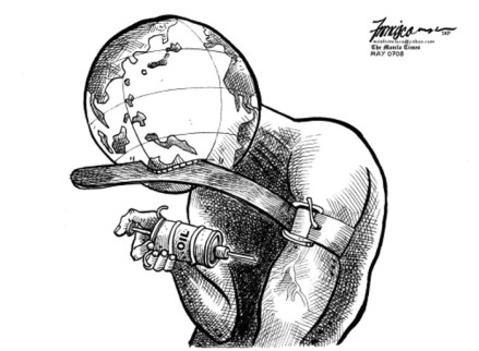 Oil addict - world