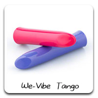 We-Vibe Tango: Versatile, travel-friendly, perfect vibrations. This is the vibrator I use 90% of the time.