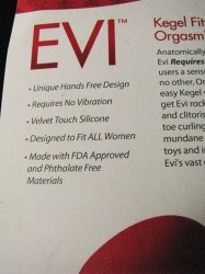 Aneros Evi Advertising Copy ~ Really? ALL women?