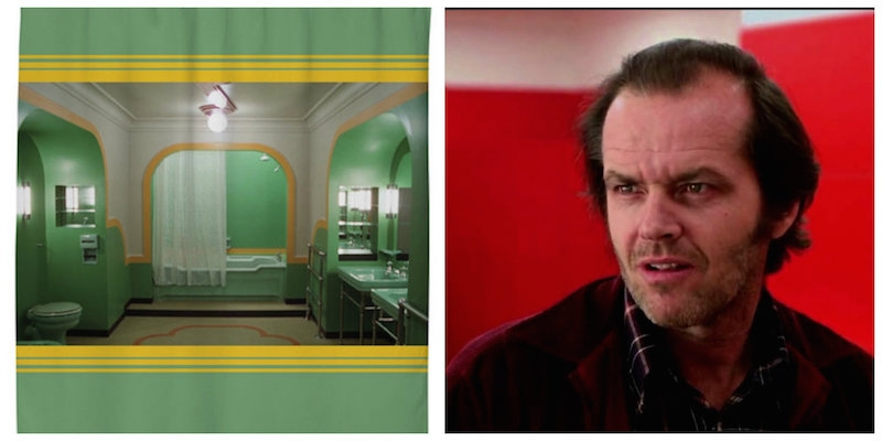 the bathroom from room 237 in the