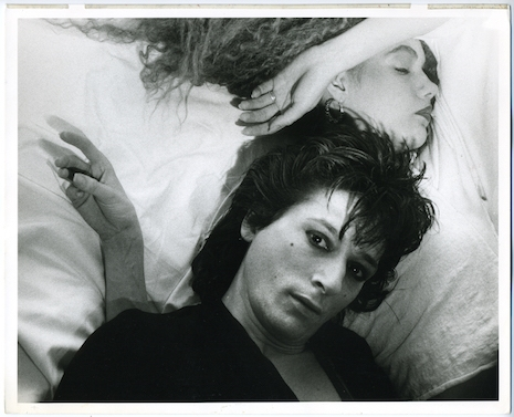 Johnny Thunders and Susanne Blomqvist early 80's