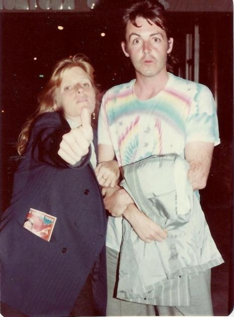 Paul And Linda McCartney Looking Dapper
