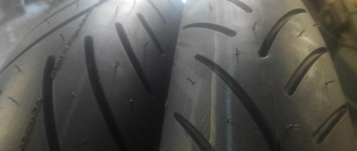 new tires – Metzeler Sportec Klassik