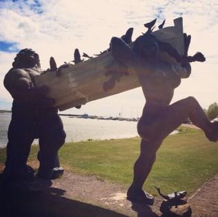 Die netten Riesen von Saaremaa