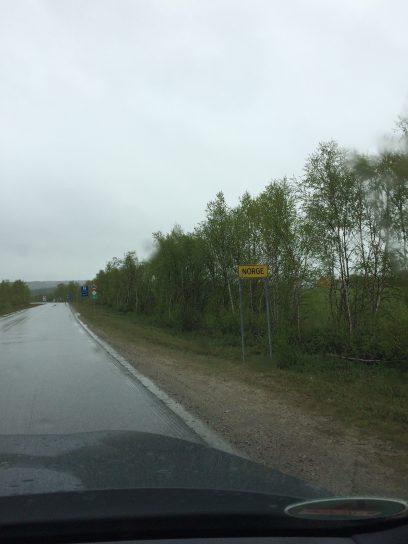 Grenze Norwegen