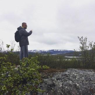 Blick nach Olderfjord