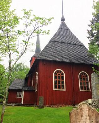 Holzkirche Kristinestad (Finnland)