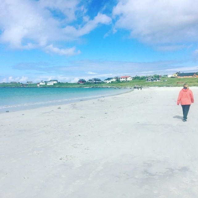 Am Strand bei Ramberg