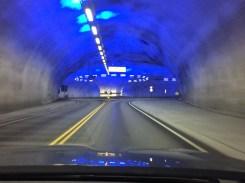 Tunnel mit Kreisverkehr