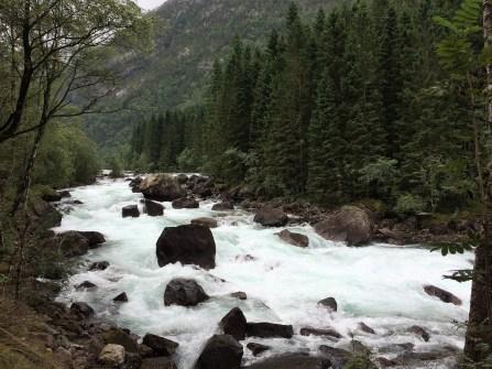 Fluss bei Kinsarvik