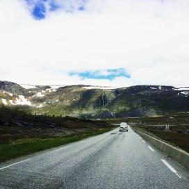 auf der Straße zum Nordkap
