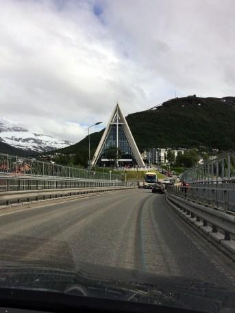 Brücke in Tromsö (Norwegen)
