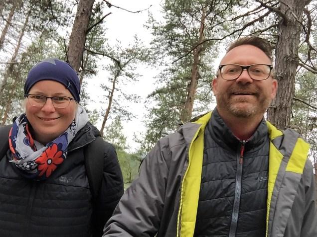 beim Wandern in Lappland