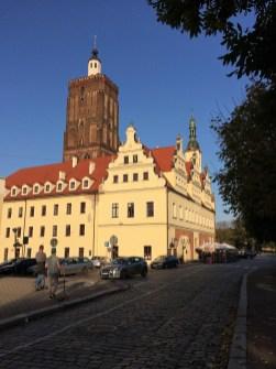 Stadtkirche und Rathaus Gubin