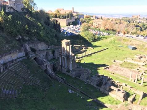 Volterra- Amphitheater
