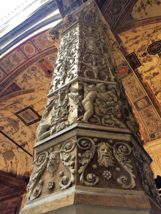 Florenz - Säule