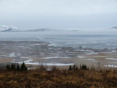 unwirkliche Atmosphäre am Þingvallavatn