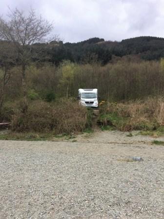 Stellplatz am Loch Lomond