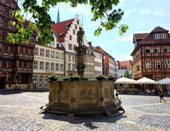 Brunnen in Hildesheim
