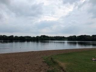 Badestelle an der Weser