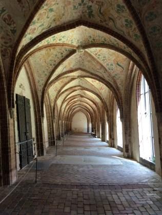 Kreuzgang im St. Petri Dom in Schleswig