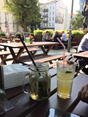 Trinkpause Schwedter Straße