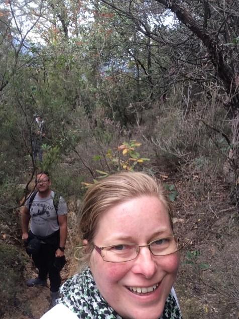 Wanderung - noch können wir lachen
