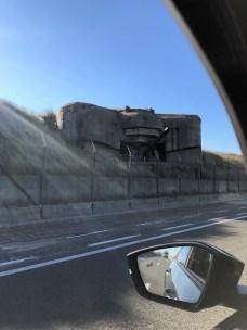 Überall Bunker