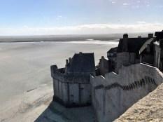 Le Mont Saint Michel - Blick aufs Wattenmeer