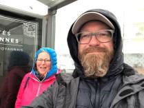 Regenschutzraum Bushaltestelle