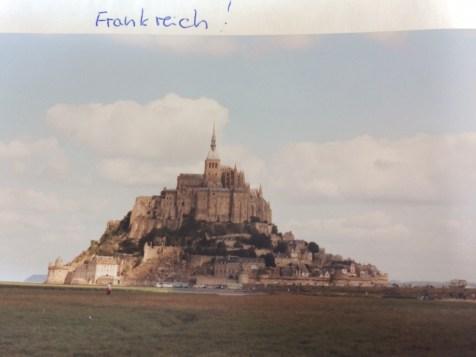 Le Mont Saint Michel vor 24 Jahren