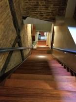 Gefährliche Treppe in Bilbao