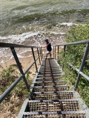 Abstieg ins Meer