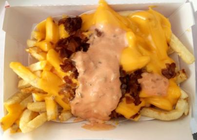 Animal fries at its finest.