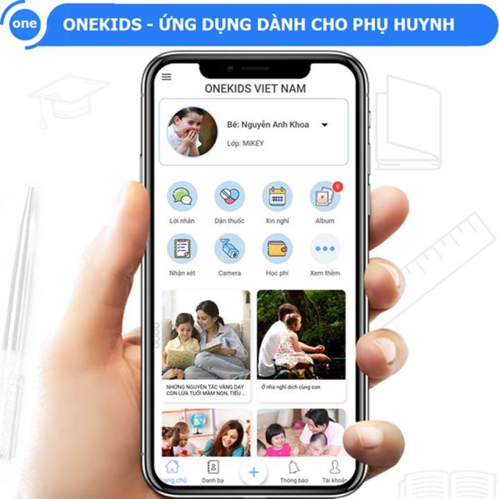 Hệ thống phần mềm quản lý trường mầm non số 1 Việt Nam OneKids
