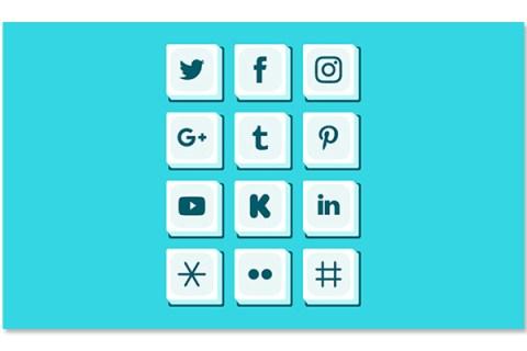 sử dụng hashtag trên mạng xã hội