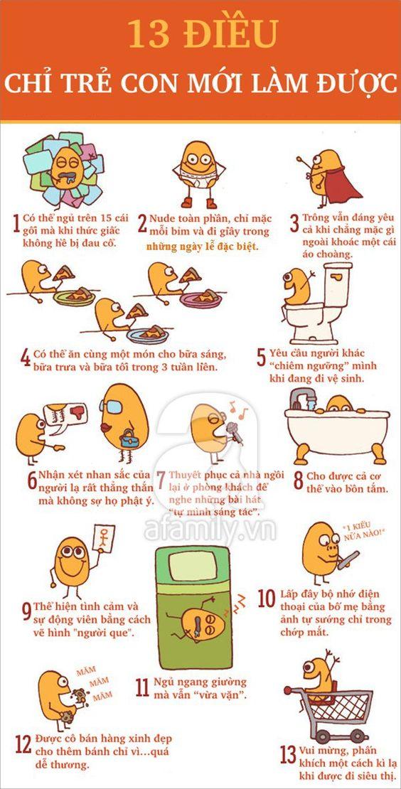 13 điều chỉ có trẻ con mới có thể làm được   ikids - Trẻ em VN