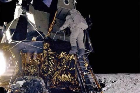 Module tàu đổ bộ mặt trăng