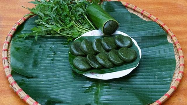 Bánh ngải là một trong 27 đặc sản của Bắc Kạn - VietFlavour.Com